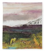 Mt Hood Mirage Fleece Blanket
