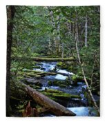 Mt Hood Wilds Fleece Blanket