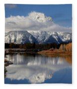 Mt Moran Fleece Blanket