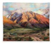 Mt Nebo Range Fleece Blanket