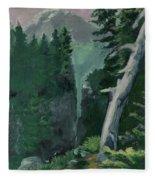 Mt Ranier Fleece Blanket