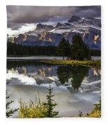 Mt. Rundell  Fleece Blanket
