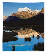 Mt Rundle Fleece Blanket