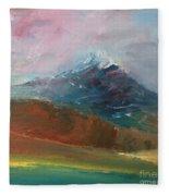 Mt Shasta 10 Fleece Blanket