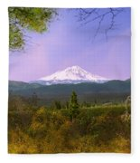 Mt. Shasta Fleece Blanket