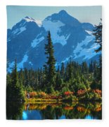 Mt. Shuksan Fleece Blanket