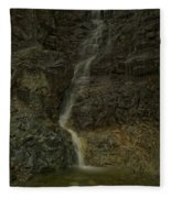Mt St Benidict Waterfall Fleece Blanket