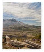Mt St Helens Fleece Blanket