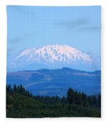 Mt. St. Helens Fleece Blanket