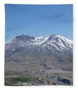 Mt. St.helens 2018 Fleece Blanket
