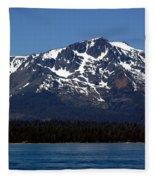 Mt Tallac Fleece Blanket