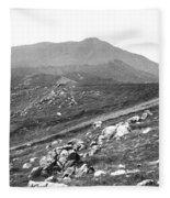 Mt Tam From The Tiburon Hills 1975 Fleece Blanket