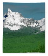 Mt Thielson Coated Fleece Blanket
