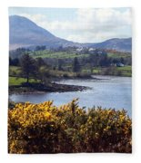 Muckish ,irish Landscape  Fleece Blanket