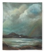 Mull From Iona Fleece Blanket