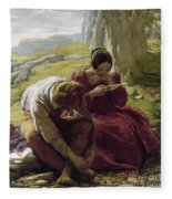 Mulready: Sonnet, 1839 Fleece Blanket