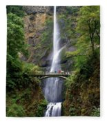 Multanomah Falls Fleece Blanket