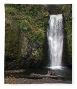 Multnomah Falls 2 Fleece Blanket