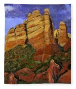 Munds Mountain Fleece Blanket