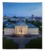Munich Koenigsplatz Impressions Fleece Blanket