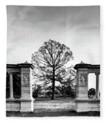 Muny Columns Fleece Blanket