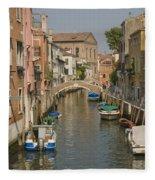 Murano Canal 4329 Fleece Blanket