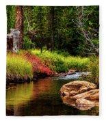 Murdock Basin Autumn Fleece Blanket