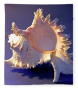 Murex Ramosus Seashell Fleece Blanket
