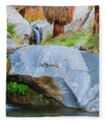 Murray Canyon Falls Fleece Blanket