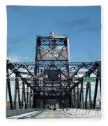 Murray Morgan Bridge, Tacoma, Washington Fleece Blanket