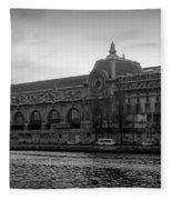 Musee D'orsay Fleece Blanket