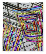 Museum Atrium Art #2 Fleece Blanket