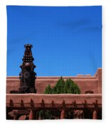 Museum Of Indian Arts And Culture Santa Fe Fleece Blanket