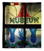 Museum Fleece Blanket