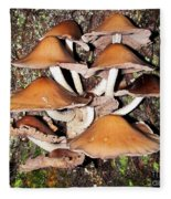 Mushroom Coven Fleece Blanket
