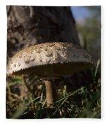 Mushroom II Fleece Blanket
