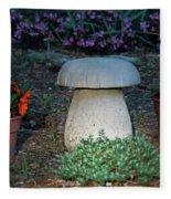 Mushroom Stool Fleece Blanket