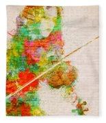 Music In My Soul Fleece Blanket