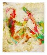 Music Man Fleece Blanket