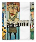 Musician Trio Fleece Blanket