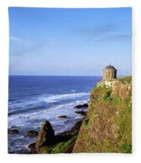 Mussenden Temple, Portstewart, Co Fleece Blanket