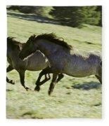 Mustang Mares Fleece Blanket