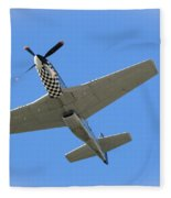 Mustang Overhead Fleece Blanket