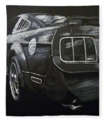 Mustang Rear Fleece Blanket