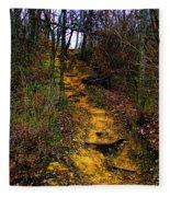 Mustard Hill Fleece Blanket