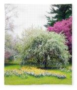 Muted Meadow Fleece Blanket