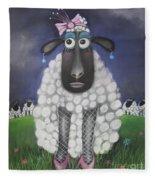 Mutton Dressed As Lamb Fleece Blanket