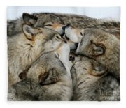 Muzzle Nuzzle Fleece Blanket