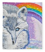 My Artic Fox Fleece Blanket