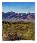 My Catalina Mountains Fleece Blanket